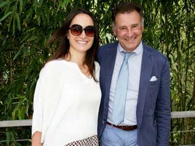 Pierre Sled, l'ex de Sophie Davant et sa chérie en amoureux à Roland Garros