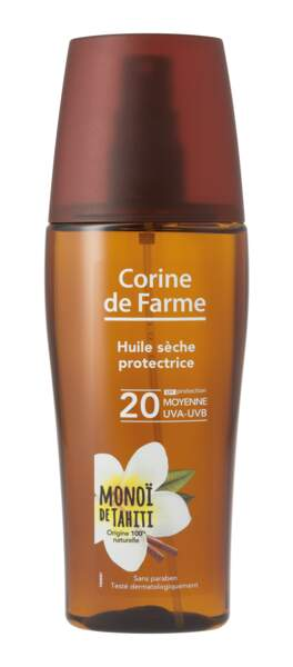 Huile Sèche Protectrice 20, 8,10 €