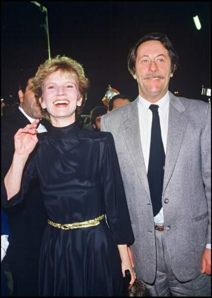 Jean Rochefort et Nicolas Garcia en 1985