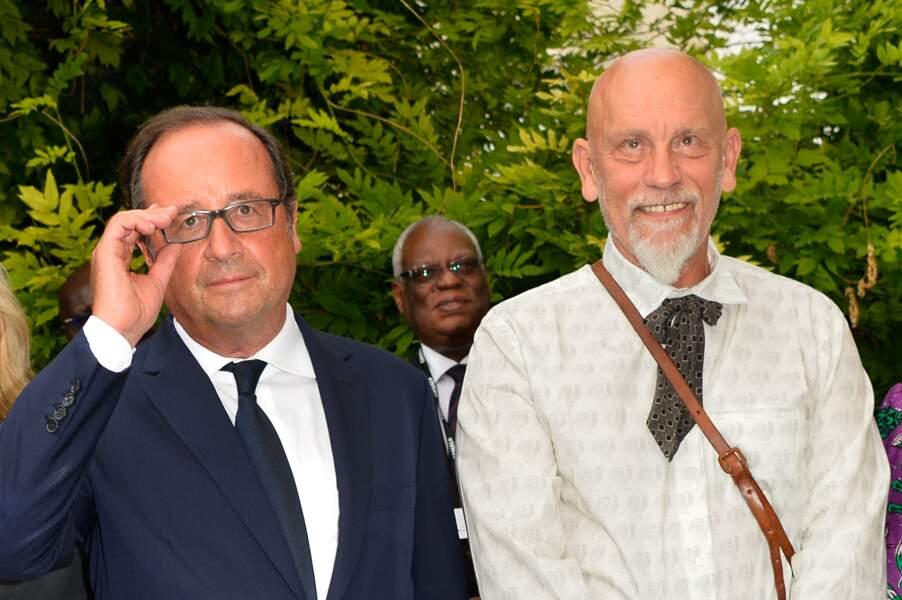 Rencontres de présidents entre François Hollande et John Malkovich