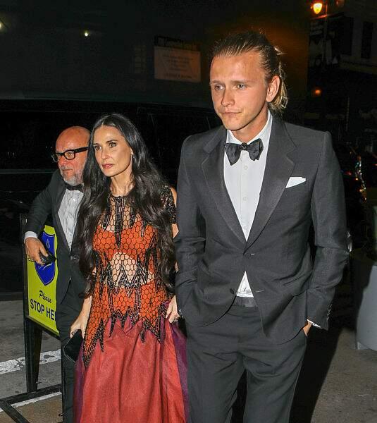 Demi Moore et son petit-ami Sean Friday étaient au mariage de Gwyneth Paltrow