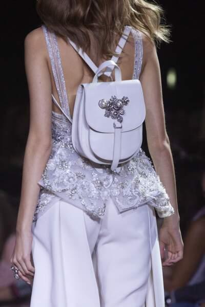 Le sac à dos bijoux d'Elie Saab