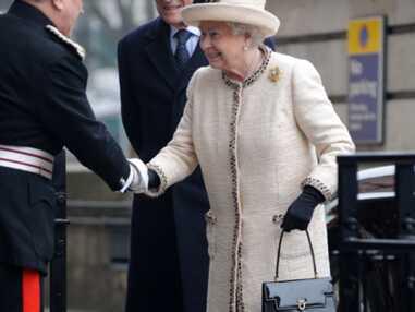 La famille royale britannique dans le metro