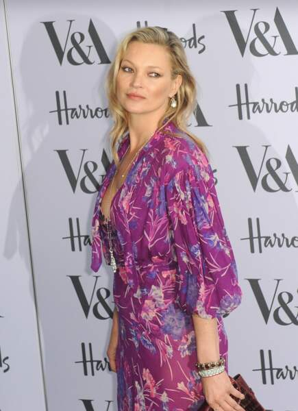 Le brushing souple de Kate Moss