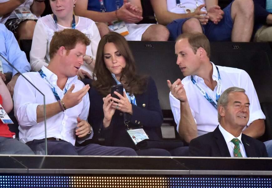 Quel conseil Harry demande-t-il à Kate Middleton?