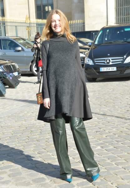 La modèle Natalia Vodianova est devenue pour la première fois maman à 19 ans
