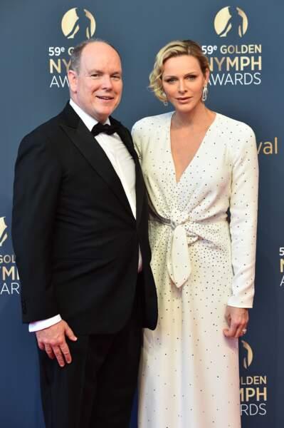 Albert II de Monaco et Charlene clôturaient la 59ème édition du Festival de Monte Carlo ce 18 juin