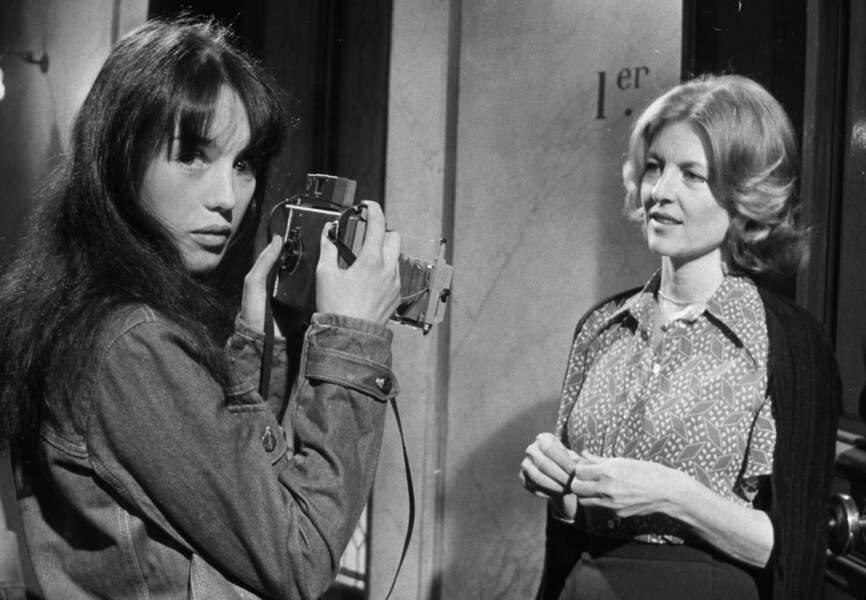 """Son rôle dans """"La Gifle"""" en 1974 la fait connaître du grand public"""