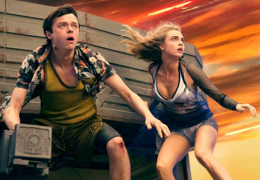 Cara Delevingne et Dane DeHaan, deux acteurs dans le vent