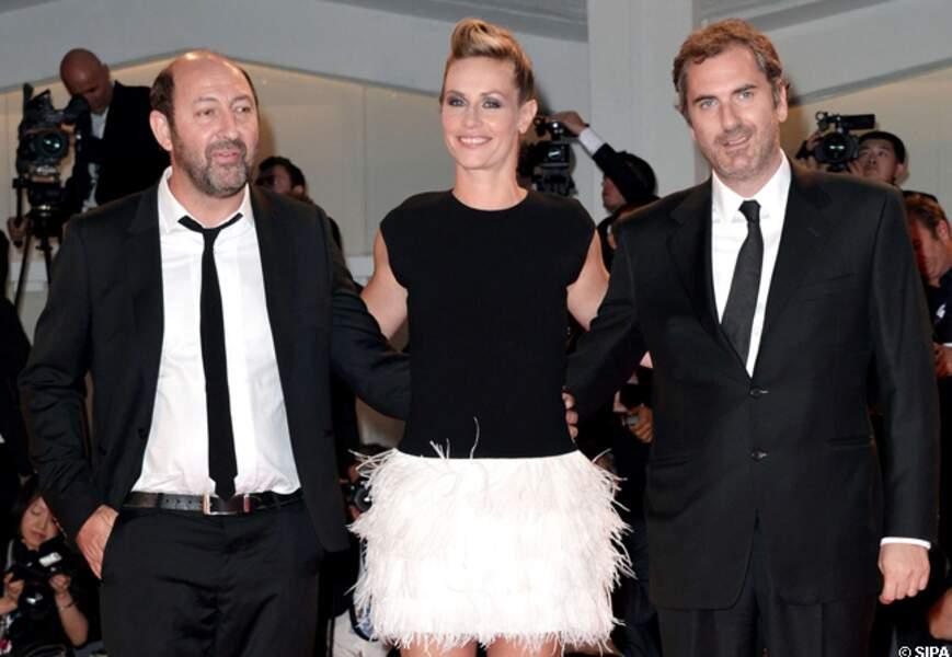 Kad Merad, Cécile de France et Xavier Giannoli