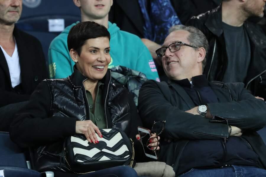 Cristina Cordula et Frédéric Cassin complices en tribunes