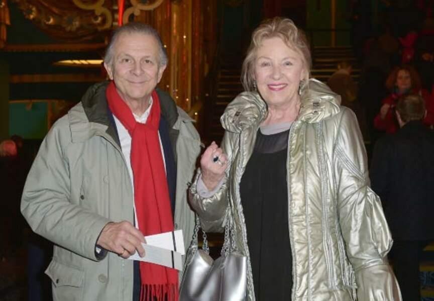 Roland Giraud et sa femme