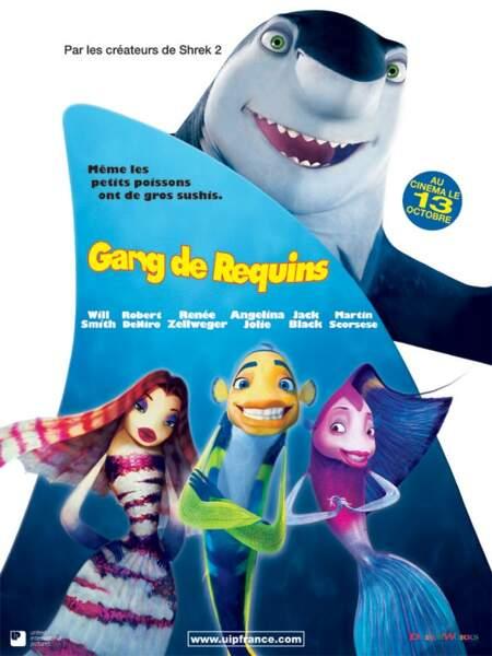 En 2004, Dany Boon s'essaye au doublage dans Gang de requins