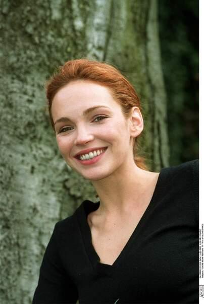 En 2001, Claire Keim adopte le blond vénitien, au festival du film de Valenciennes