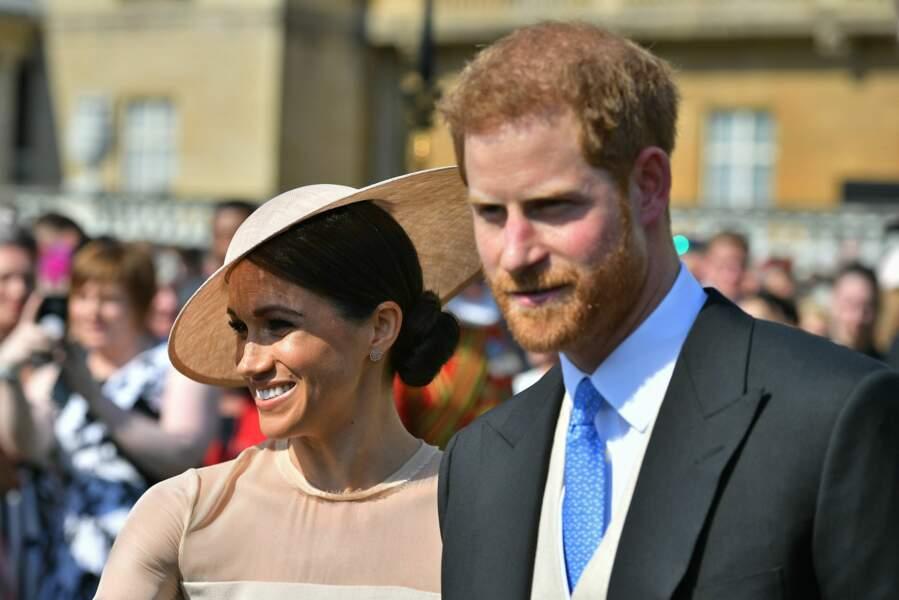 Meghan Markle et son mari, le duc de Sussex, tous deux très souriants