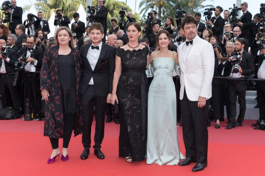Le jury de Un Certain Regard avec Virginie Ledoyen, le 08/05/18 pour la cérémonie d'ouverture du festival de Cannes