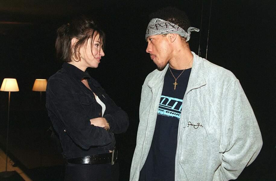 Béatrice Dalle et Joey Starr au Festival de Cannes en 2001
