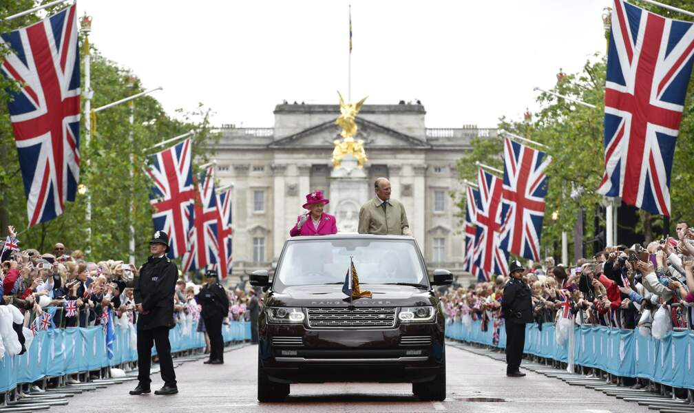 Queen's 90th birthday celebrations - Royals Arrive At Patron's Lunch - UK