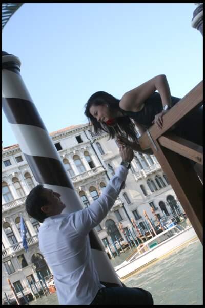 Daniel Ducruet au balcon de Kelly Marie Lancien