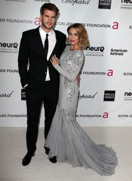 Miley Cyrus et Liam Hemswroth