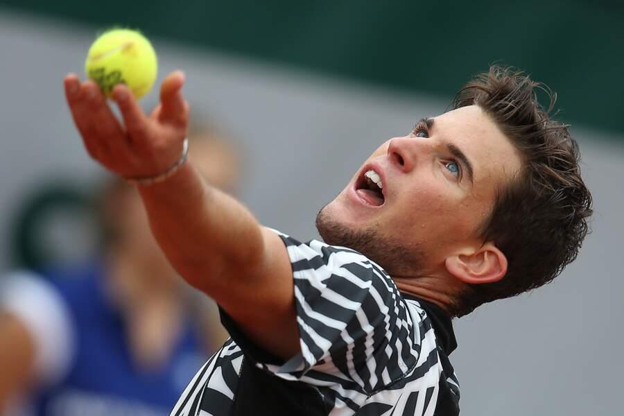 En 2016, Dominic Thiem s'est incliné contre le Serbe Noval Djokovic, qui a ensuite remporté Roland Garros