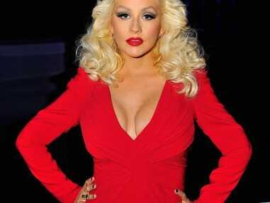 Christina Aguilera, première sortie après bébé