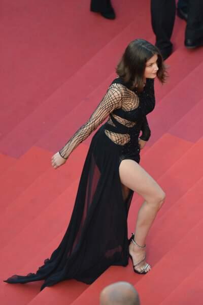 Laetitia Casta sur le tapis rouge de Cannes en mai 2016