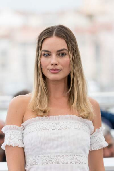Margot Robbie au photocall du film Once upon a time in Hollywood dans lequel elle joue Sharon Tate