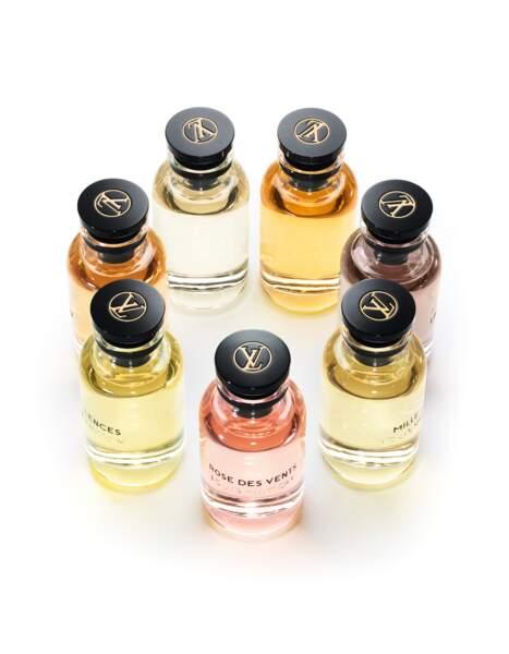la collection des sept parfums