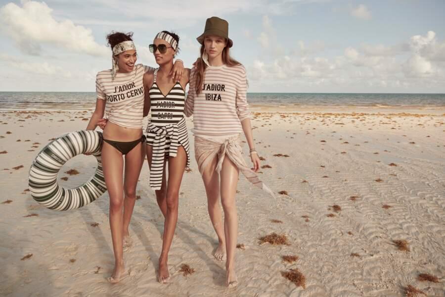 L'été peut commencer avec la collection Riviera de Dior, un mélange d'influences à la fois exotiques et marines.