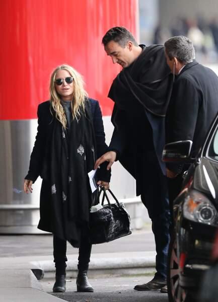 Olivier Sarkozy et Mary-Kate Olsen