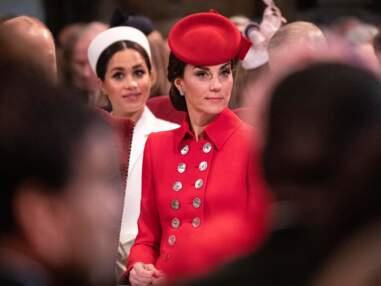 Meghan Markle et Kate Middleton, plus belles l'une que l'autre lors d'une rare sortie en commun