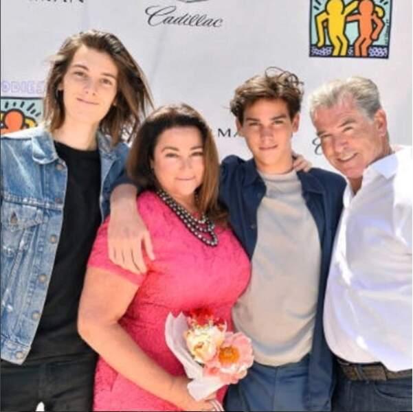 Pierce Brosnan rend hommage à Keely, la mère de ses enfants