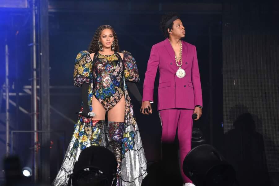 Beyonce et Jay-Z, un couple ultra looké pour leur tour
