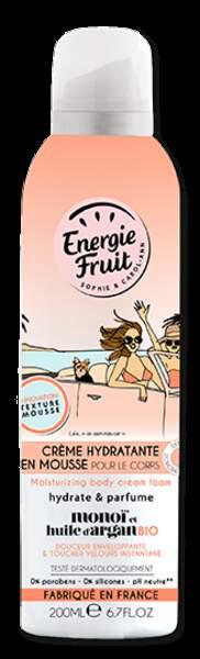 Crème Hydratante en mousse, monoï de Tahiti, Énergie Fruit, 5,99 €