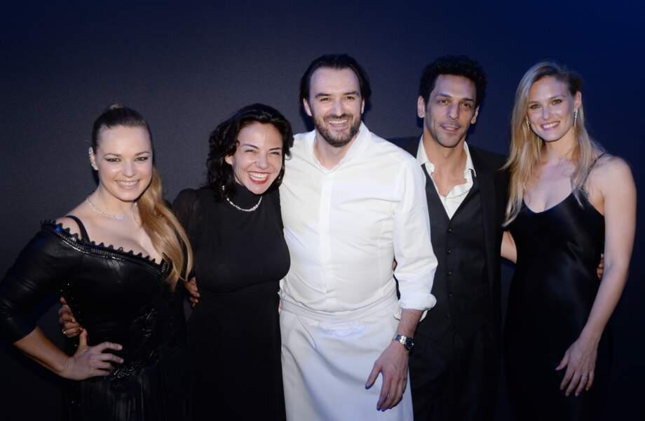 Caroline Gaspard, Sandra et Tomer Sisley, Cyril Lignac et Bar Refaeli