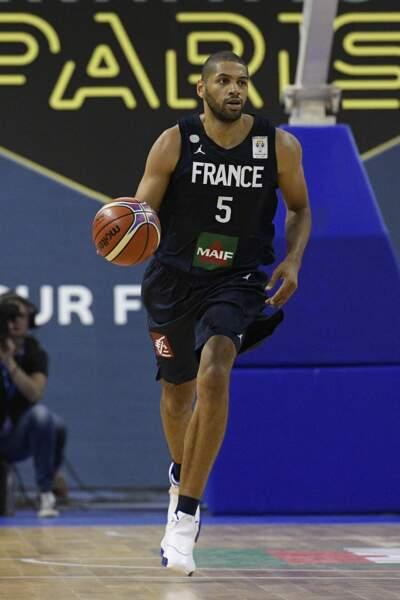Nicolas Batum et l'Equipe de France de Basket