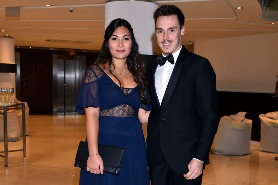 Louis Ducruet et sa fiancée Marie Chevallier - 15ème édition des Golden Foot Hublot Award 2017 le 07/11/17