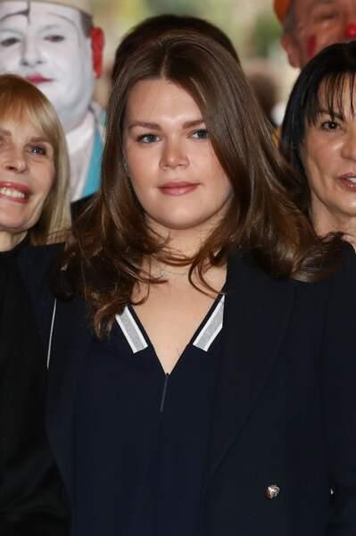 Camille Gottlieb, 20 ans, est la fille cadette de Stéphanie de Monaco