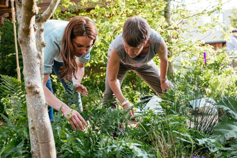 """Kate Middleton très impliquée dans son projet pour le """"Chelsea Flower Show garden """""""