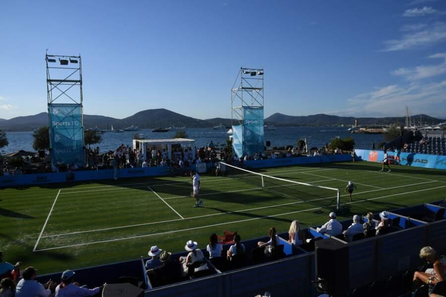 Le Classic Tennis Tour sur le port de Saint-Tropez