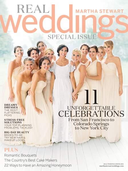 Jennifer Lawrence fait la une d'un magazine dédié au mariage, célébrant celui de son frère aîné Blaine
