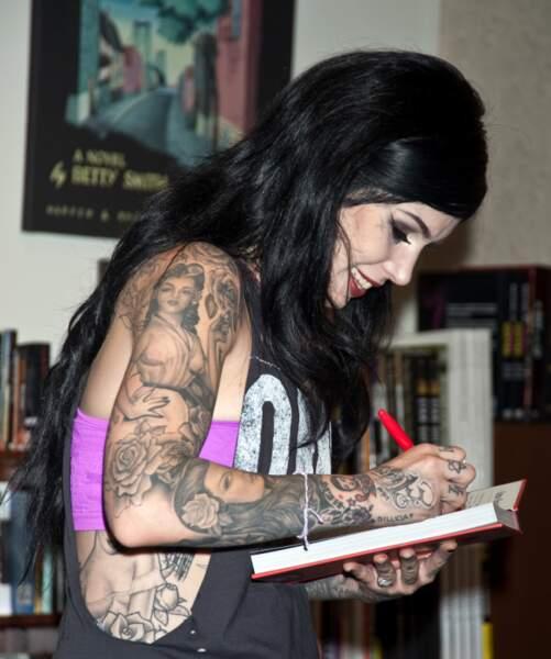 Les tatouages de Kat Von D.