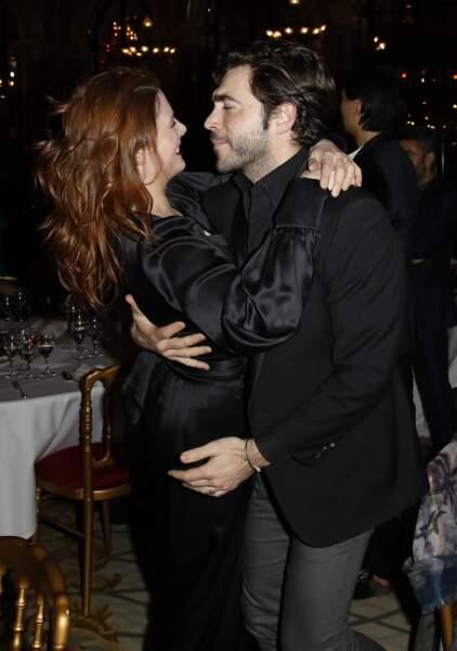 Elodie Frégé et Gian Marco Tavani se sont montrés très complices sur la piste de danse