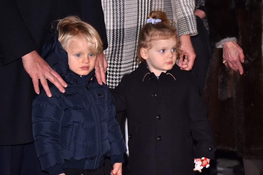 Jacques et Gabriella lors de la traditionnelle célébration de la Sainte Dévote, le 26 janvier 2018