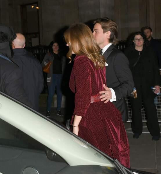 Le couple a ainsi cotoyé Kate Middleton, marraine de la National Portrait Gallery, ou encore Amal et George Clooney