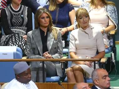 Brigitte Macron et Melania Trump : looks de working-girl à l'ONU