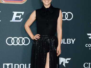 """PHOTOS - Natalie Portman fait sensation en robe fendue lors de l'Avant-première du film """"Avengers : Endgame"""" à Los Angeles"""