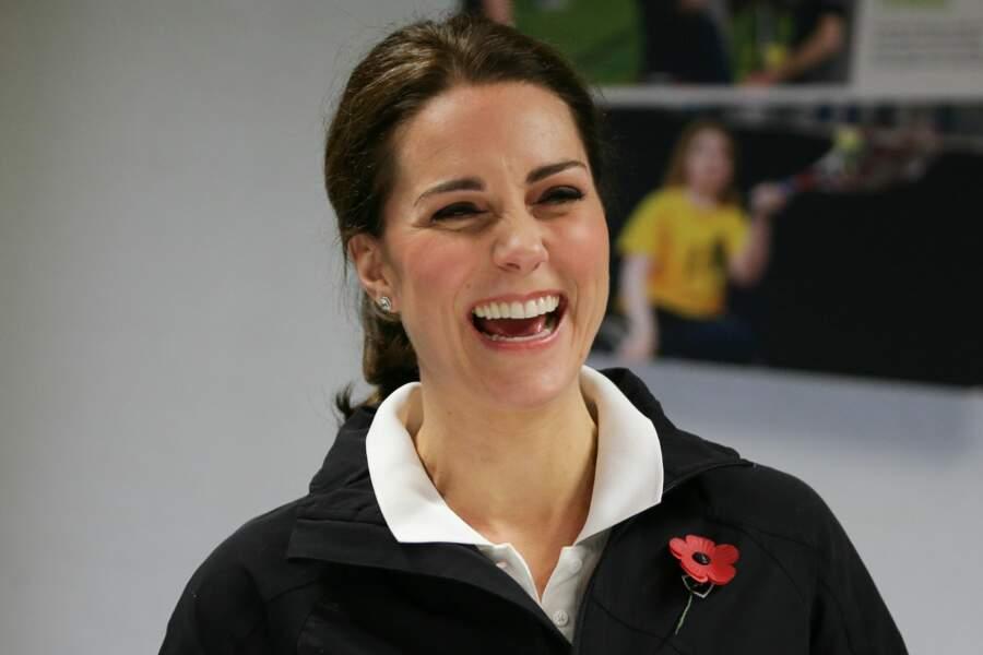 La duchesse de Cambridge était en visite au Centre national de tennis de Londres