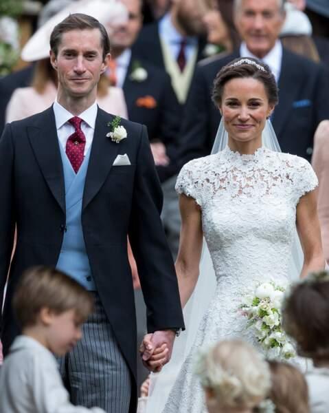 James Matthews un marié tout en élégance le 20 mai 2017 pour épouser Pippa Middleton